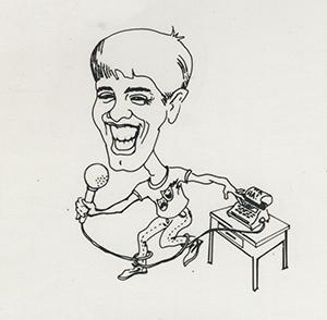 Caricature of David